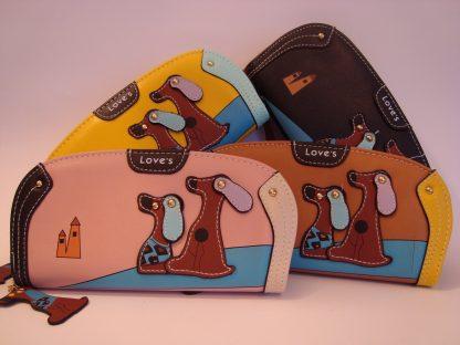 portemonnee met honden motief