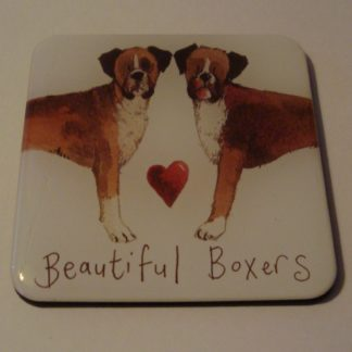 Koelkastmagneet beautiful boxers Alex Clark 6x6