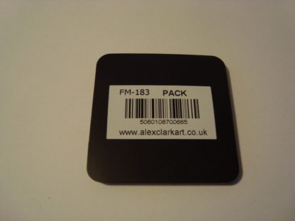 Koelkastmagneet pack Alex Clark 6x6 achterkant