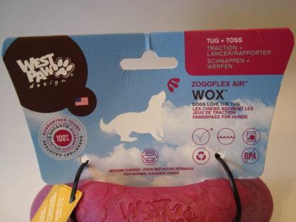 Westpaw zogoflex Wox etiket voor