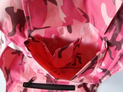 AddPocket lively pink zakje open boven