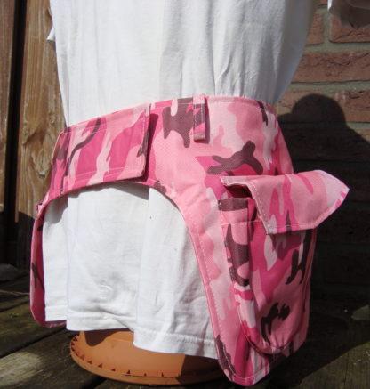 Add Pocket heuptassen roze zij