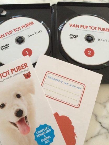 Dvd van pup tot puber binnenkant